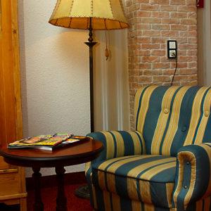 Zum Lesen oder als Rückzugsort. Entspannen in ruhiger Atmosphäre.