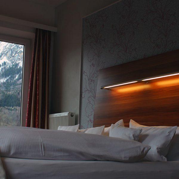 Hotel Almrausch in Bad Reichenhall - Ihr 3 Sterne Hotel im Süden Bayerns - Zimmer Doppelzimmer Komfort 12 Innenaufnahme