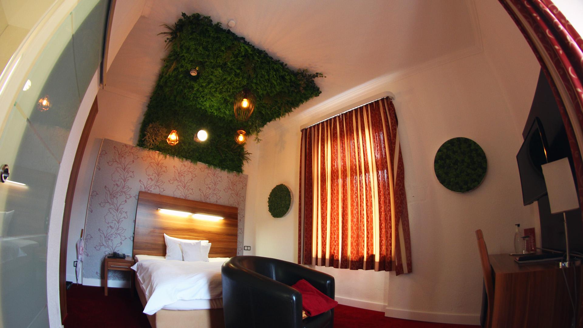 Hotel Almrausch in Bad Reichenhall - Ihr 3 Sterne Hotel im Süden Bayerns - Zimmer Einzelzimmer Komfort 7 Innenaufnahme